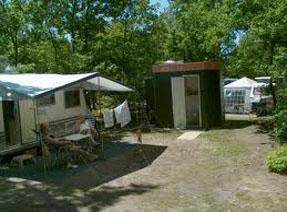 Camping met privé sanitair. volop comfort en gemak in de vakantie