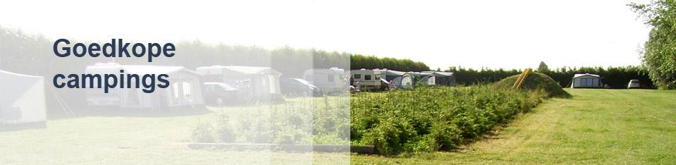 Goedkope campings
